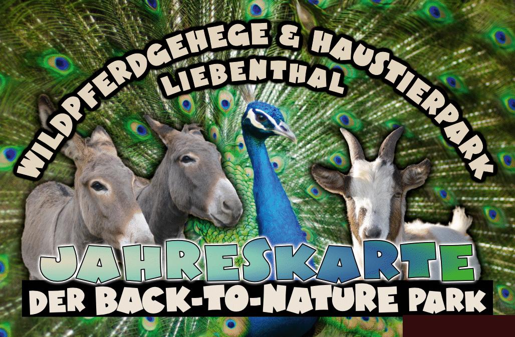 Wildpferdgehege Haustierpark Liebenthal Jahreskarte
